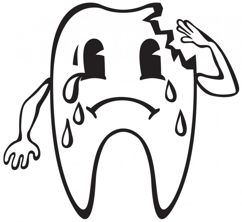 dinte spart